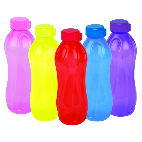 Cello Aqua Kool Polypropylene Bottle Set 5 Pcs