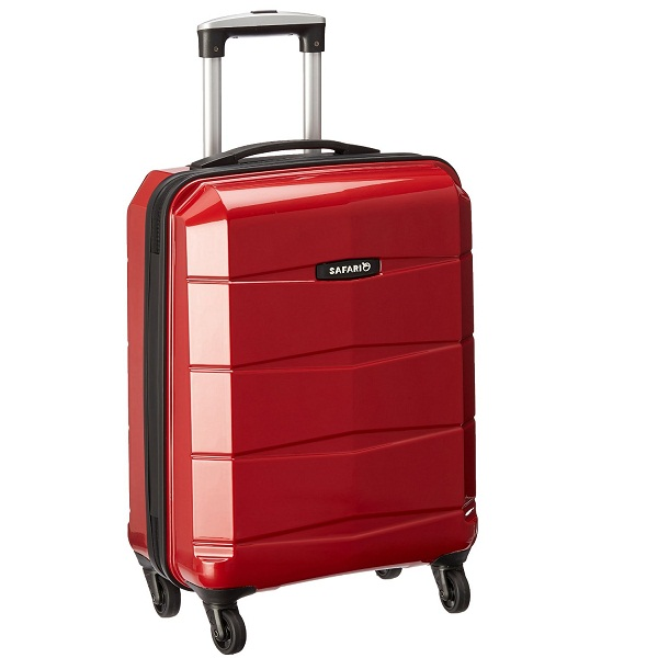 Safari ReGloss Polycarbonate 55 cms Red Hardsided Carry On