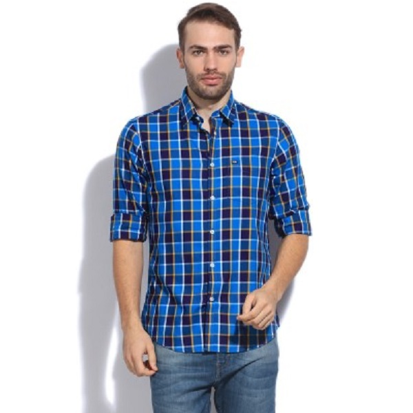 Arrow Sport Mens Checkered Casual Shirt