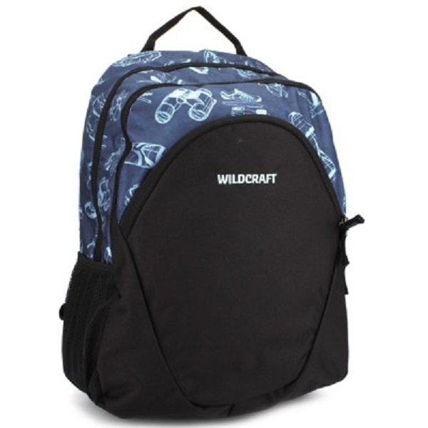 Wildcraft Hinge Blue Backpack