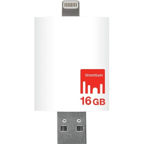 Strontium Nitro iDrive OTG Pendrive for iOS 16 GB Utility Pendrive