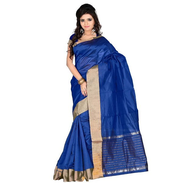 Roopkala Silks Sarees Poly Cotton Saree