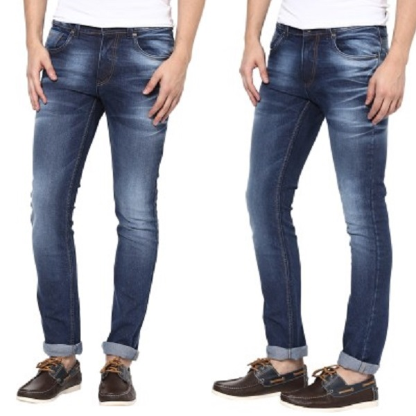 SuperX Skinny Fit Mens Jeans