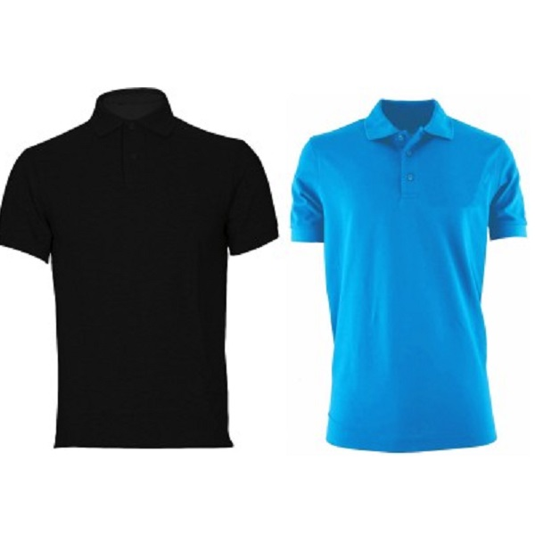 Davie Jones Solid Mens Polo TShirt Pack of 2