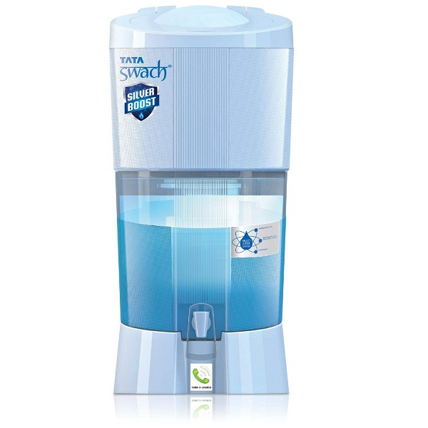 Tata Swach Non Electric Silver Boost 27Litre Gravity Based Water Purifier