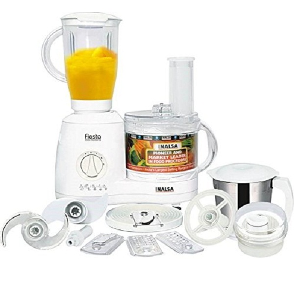 Inalsa Fiesta 650 Watt Food Processor