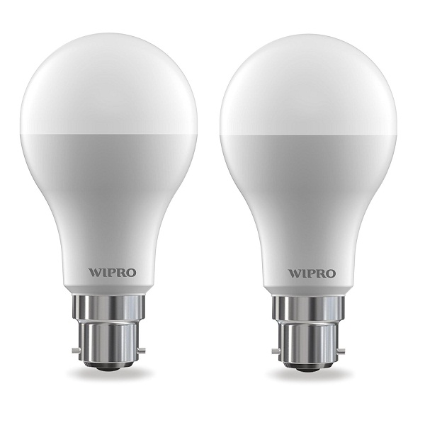 Wipro Garnet 12 Watt LED Bulb Pack of 2