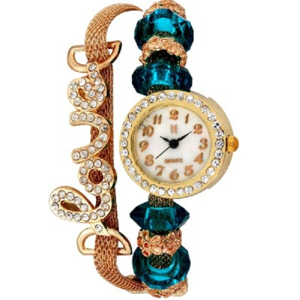 Excelencia CW26Blue Love Bracelet Analog Watch