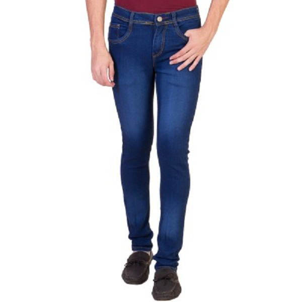 Aeroglide Skinny Fit Mens Light Blue Jeans
