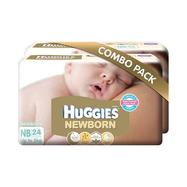 Huggies New Born Combo Pack