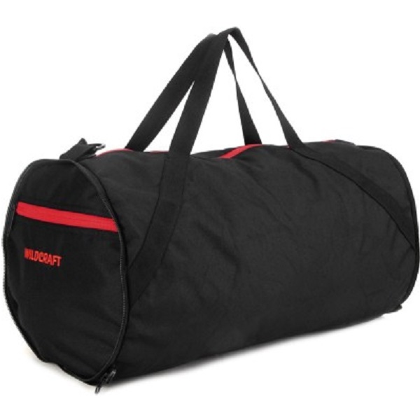 Wildcraft Eclipse Black Duffel Bag