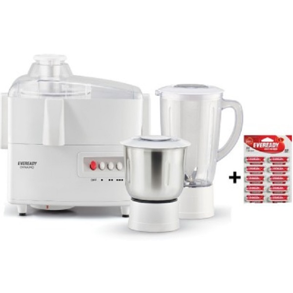 Eveready Dynamo 450 W Juicer Mixer Grinder
