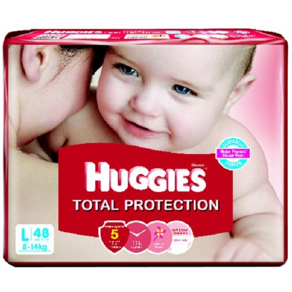 Huggies Total Protection Large Diapers