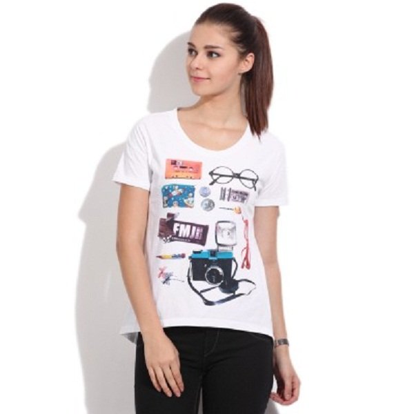Flying Machine Womens Tshirt