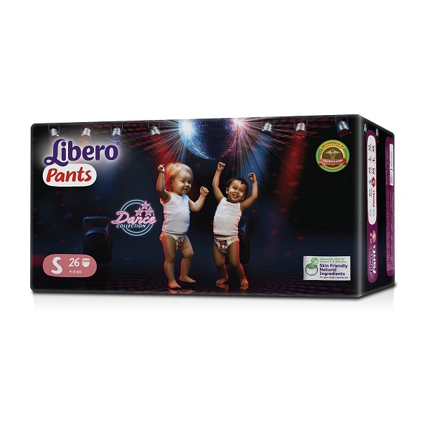 Libero Small Size Diaper Pants 26 Pieces