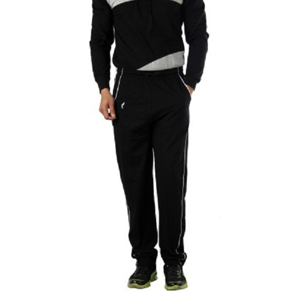 V3Squared Solid Mens Black Track Pants