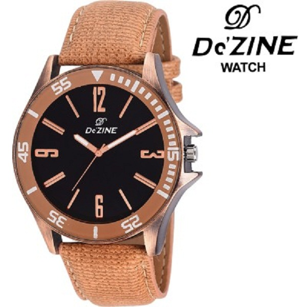 Dezine Unique Copper Analog Watch