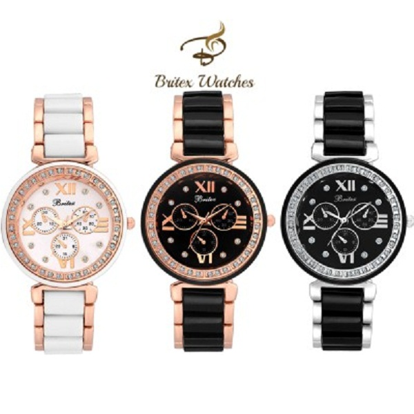 Britex Wrist Watch Combo For Girls