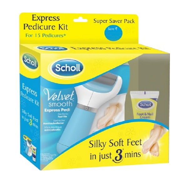Scholl Velvet Smooth Express Pedi Kit