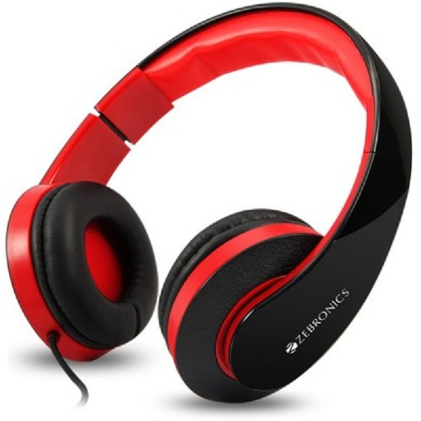 Zebronics Rockstar Stereo Wired Headphones
