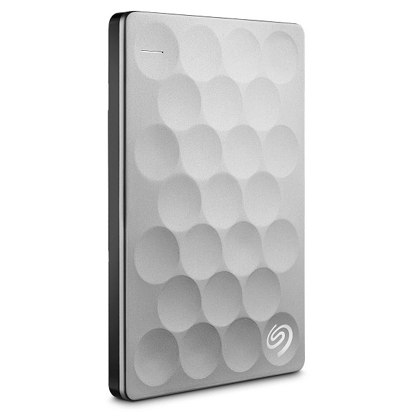 Seagate Backup Plus Ultra Slim 1TB Portable Drive with 200GB of Cloud Storage