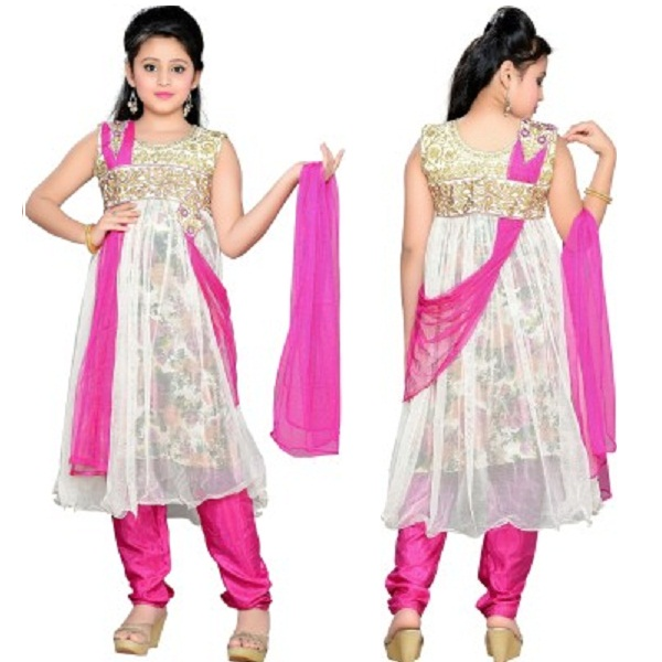 Aarika Girls Kurta and Churidar Set