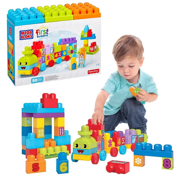Fisher Price First Builders 1 2 3 Learning Train