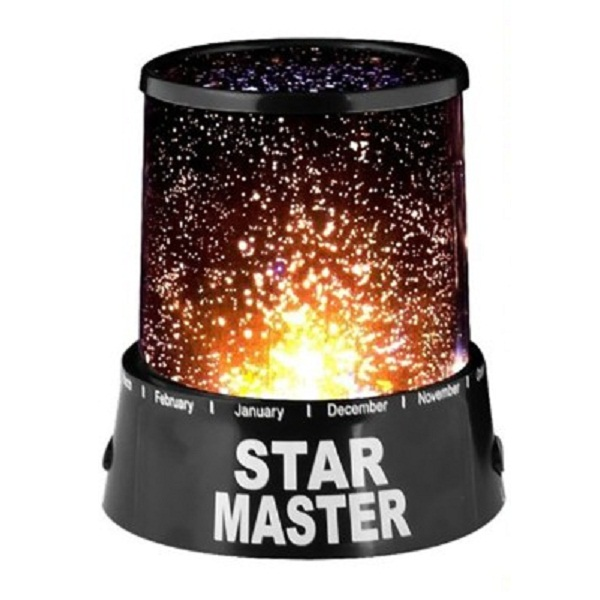 Inventure Retail Star Master Projector With Usb Wire Turn Any Room Into A Starry Sky Night Lamp