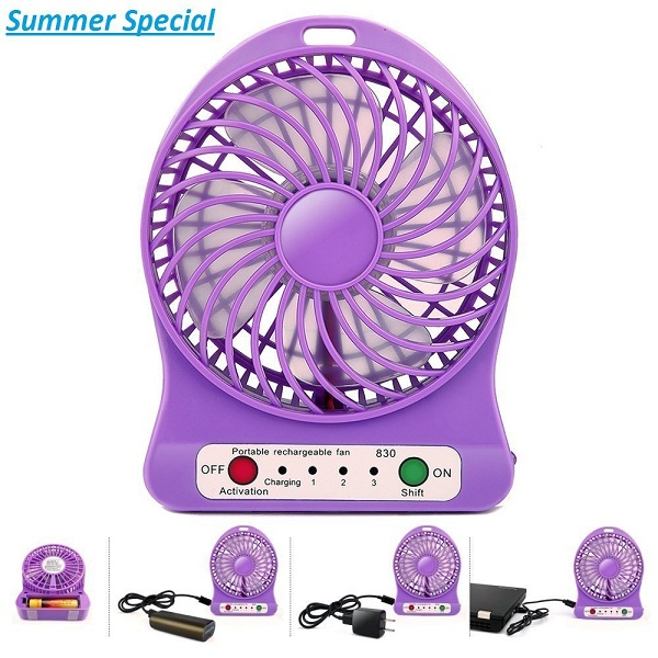 Totelec Multi Functional Mini USB Table Fan