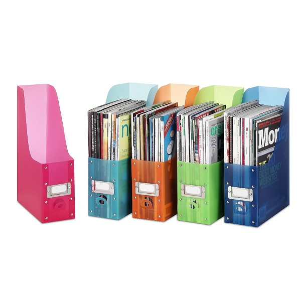 Whitmor Polypropylene Magazine Organizers Set of 5