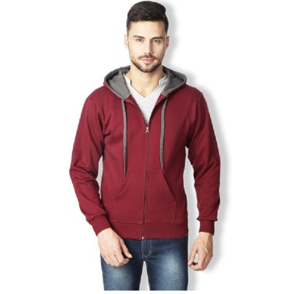 Rodid Full Sleeve Solid Mens Sweatshirt