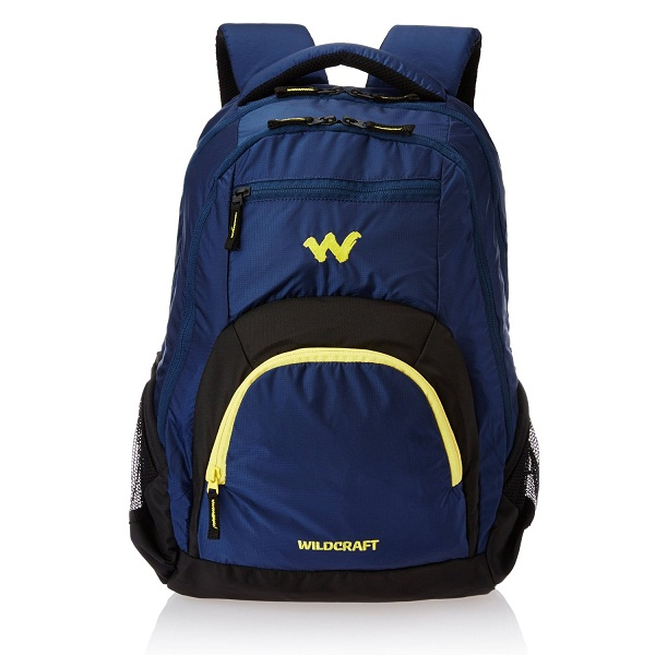 Wildcraft Polyester 29 ltrs Blue Laptop Bag