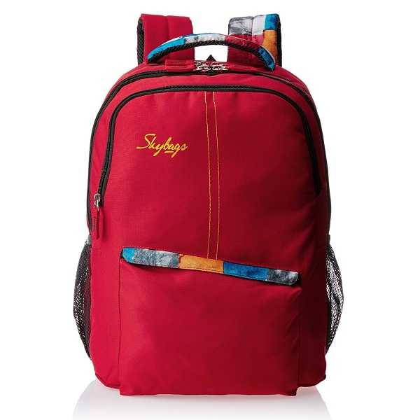 Skybags Red Casual Backpack