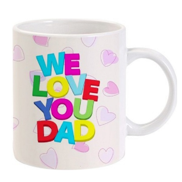 Lolprint Gift for Fathers Day Ceramic Mug