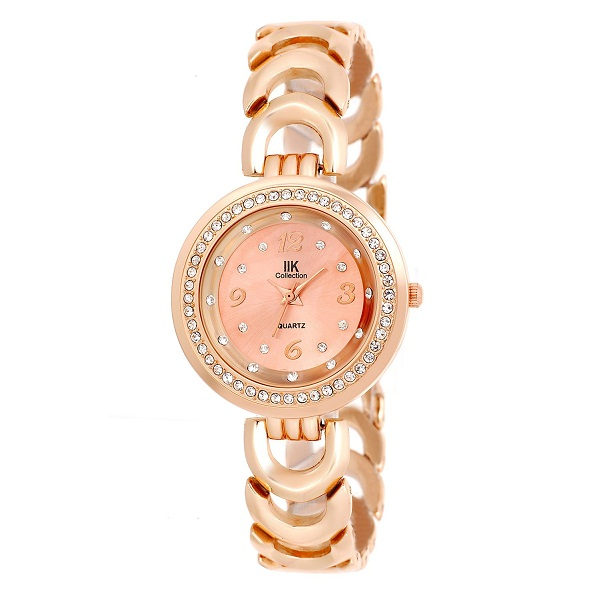 Analogue Pink Dial Womens Watch