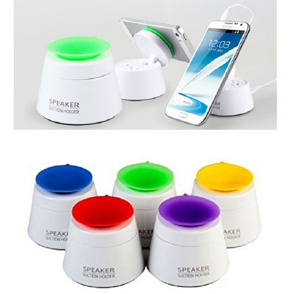 Mini Suction Holder Speaker For Mobile Phone