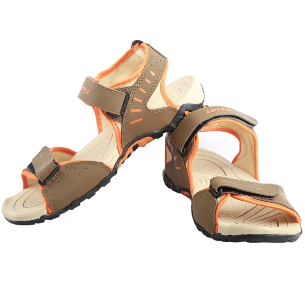 Lotto Mens Sandal Chase Brown Orange