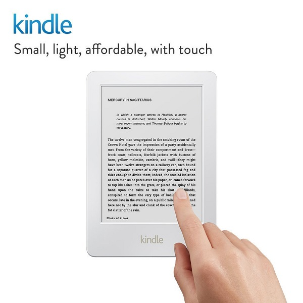 Kindle 6Inch Glare Free Touchscreen Display