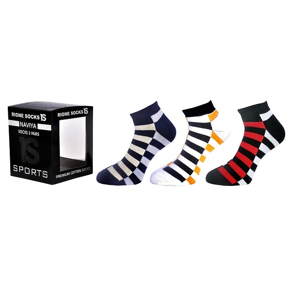 Naviya Mens Ankle Length Socks Combo