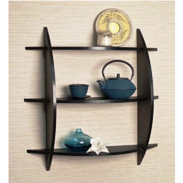 The New Look Mw11d Wooden Wall Shelf