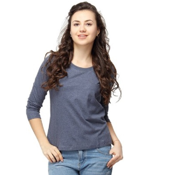 Campus Sutra Womens Blue Top