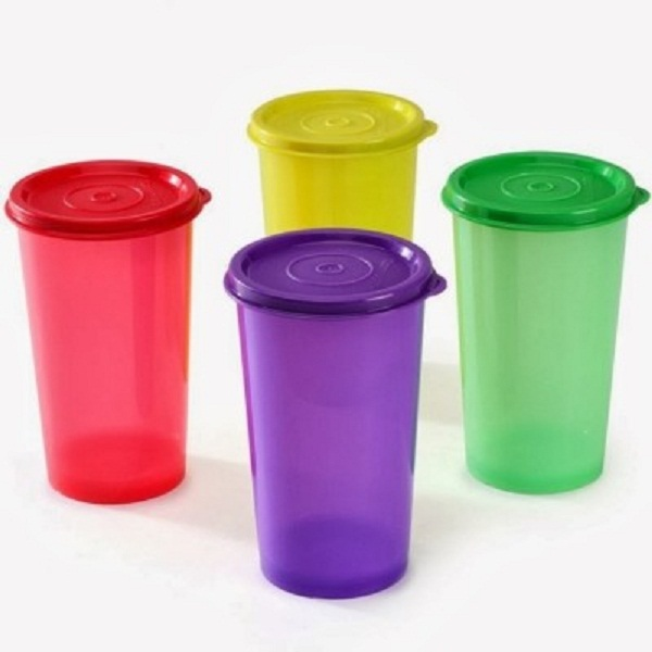 Tupperware Tumbler 330 ml Water Bottles Set of 4