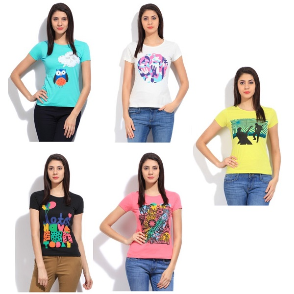 STYLE QUOTIENT BY NOI Womens TShirts
