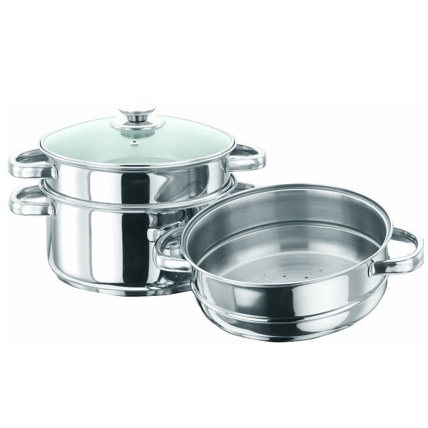 Vinod Cookware 3 Tier Steamer