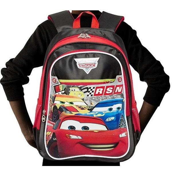 Cars Nylon Childrens Backpack