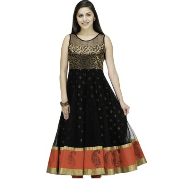 Shakumbhari Self Design Womens Anarkali Kurta