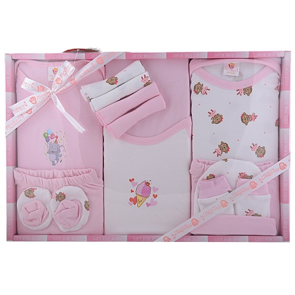 Baby Station Mini Berry Gift Set 13 Pcs NEW BORN
