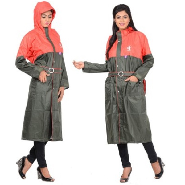 ALLWIN Solid Womens Raincoat