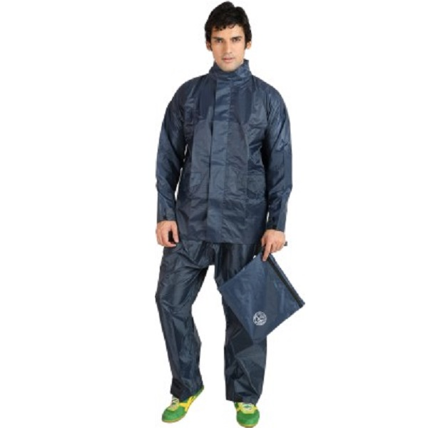 Duckback Solid Mens Raincoat