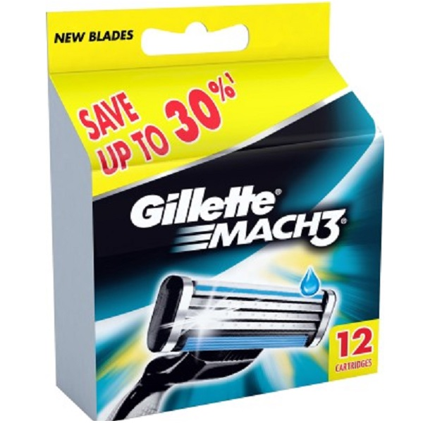 Gillette Mach 3 Cartridges